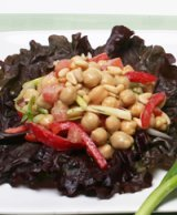 Chickpea, Pepper and Pine Nut