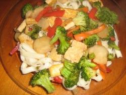 Tofu Udon Stir Fry
