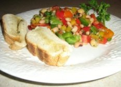 Murdle's Chick Pea Salad