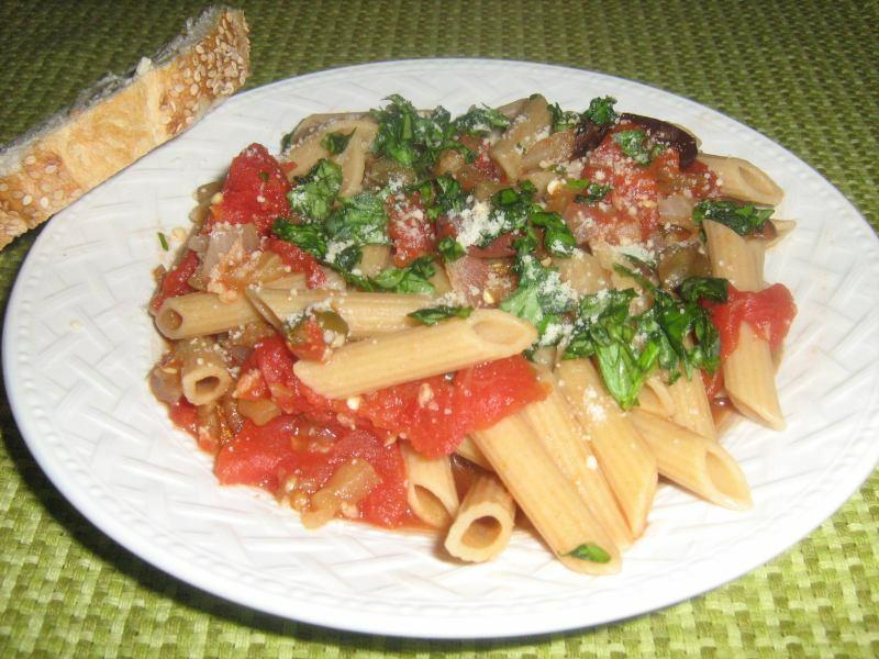 Pasta with Caponata Sauce