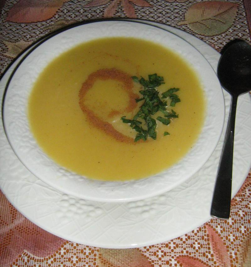 Apple and Acorn Squash Soup