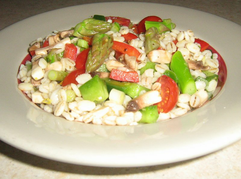Barley Salad Primavera