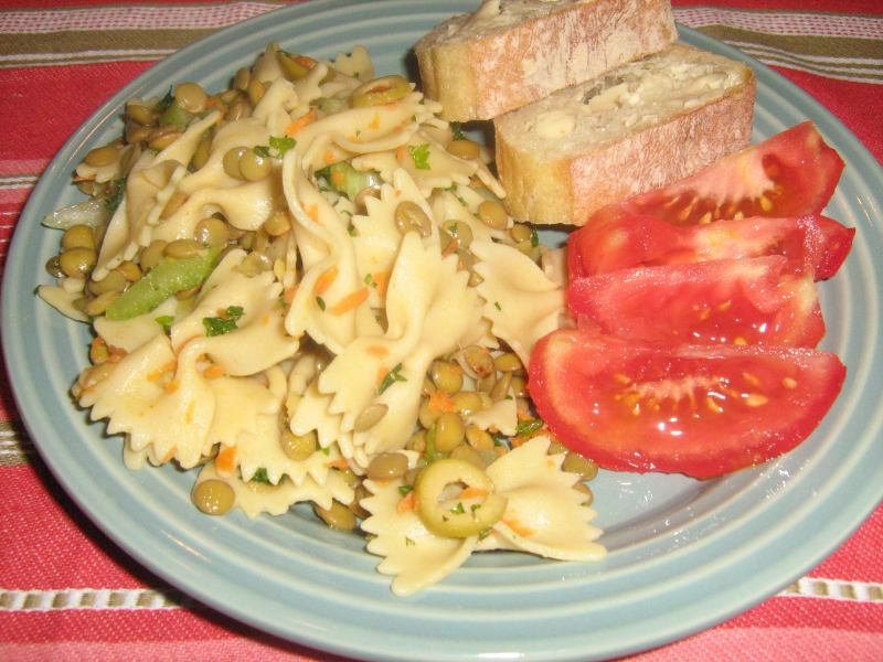Lemoned Pasta Salad