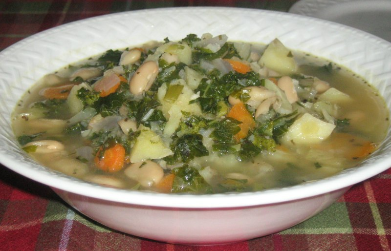 Potato and Escarole Soup