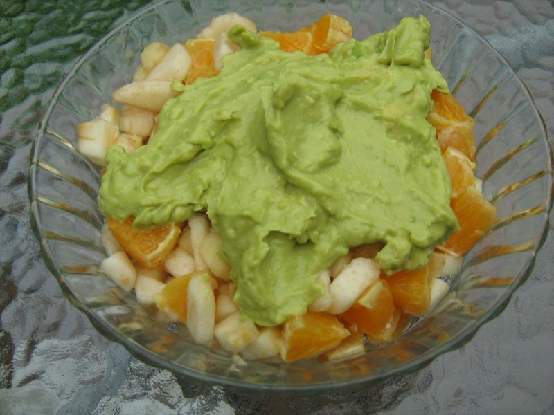 Pear and Avocado Salad