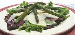 Apple and asparagus salad
