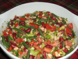 Three bean salad II