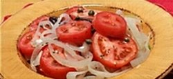 WINTER TOMATO SALAD
